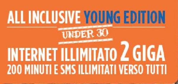 Wind All Inclusive Young Edition per gli under 30: conviene attivarla?